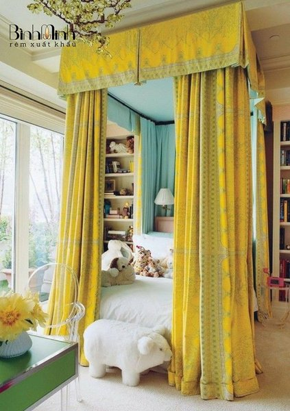 Mẹo lựa chọn rèm vải ngăn phòng đẹp và sang trọng