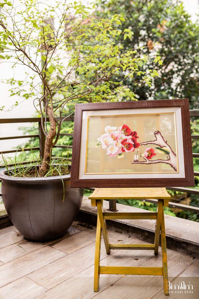 Một số bức tranh thêu đẹp bán chạy nhất hiện nay