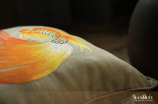 Gối thêu tay - Gối sofa cao cấp