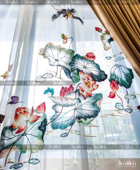 Rèm cửa sổ phòng ngủ hợp phong thủy