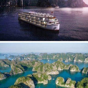 Rèm du thuyền Indochina 5 sao