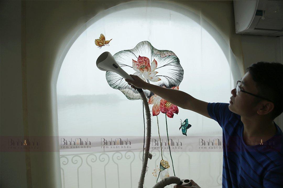 Rèm trang trí tạo nên không gian sống khác biệt