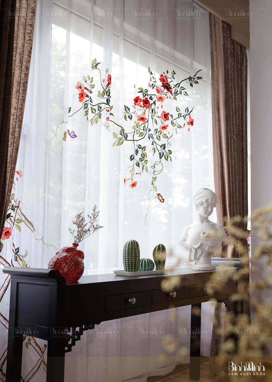 Rèm cửa sổ phòng ngủ đóng vai trò lớn đối với sức khỏe và tinh thần của con người