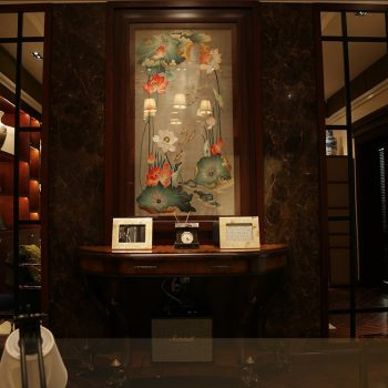 Tranh thêu hoa sen cao cấp - Tranh thêu Bình Minh