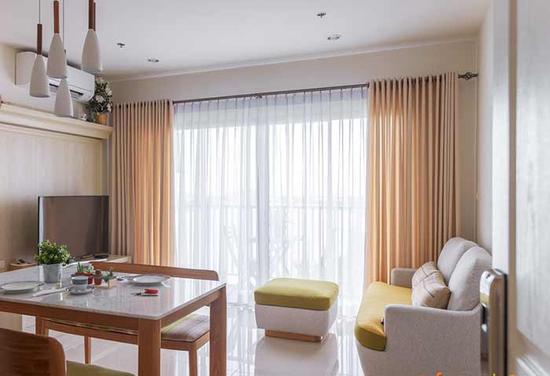 Rèm cửa chung cư cao cấp chất lượng