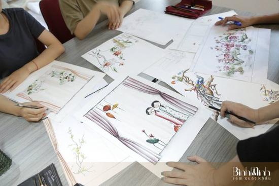 Làng nghề thêu Thượng Lâm