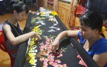 Làng nghề thêu Thượng Lâm và giá trị đến nay