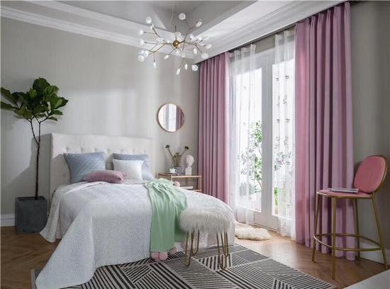 Rèm đẹp cho phòng ngủ thêu tay