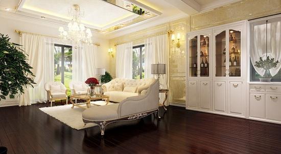 Thiết kế rèm phòng khách