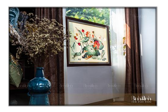 Làng thêu Minh Lãng tác phẩm nổi tiếng