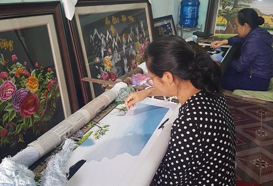 Làng thêu Minh Lãng tinh hoa văn hóa Việt