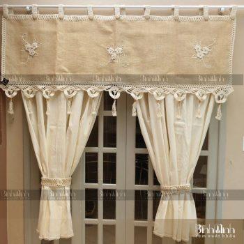 Rèm cửa vải vintage