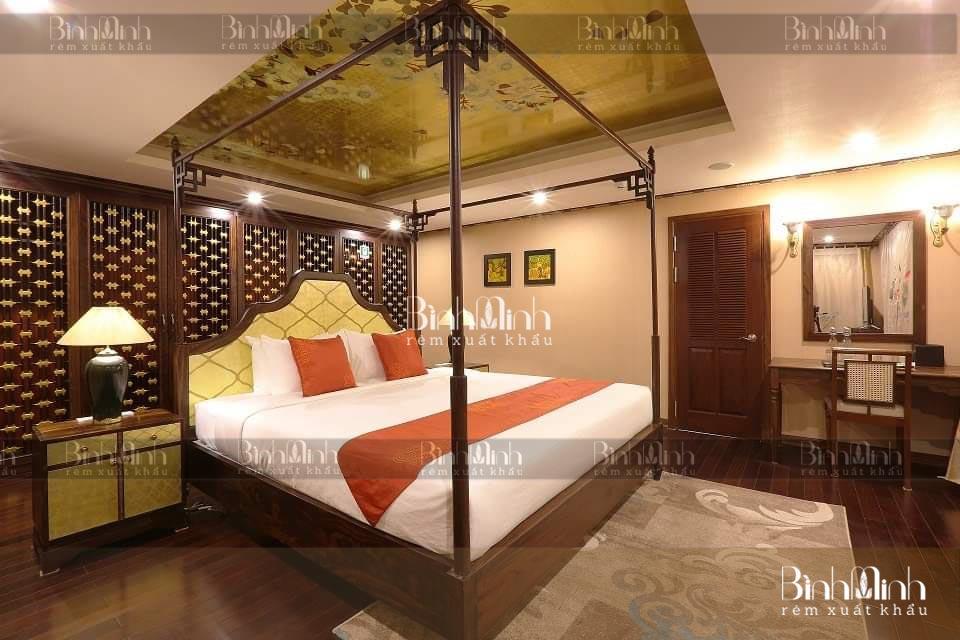 Rèm khách sạn đẹp, sang trọng, đẳng cấp 5 sao
