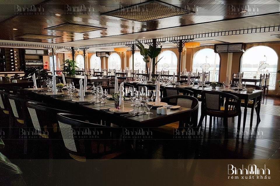 Rèm nhà hàng cao cấp, không gian đẳng cấp, nghệ thuật - www.TAICHINH2A.COM
