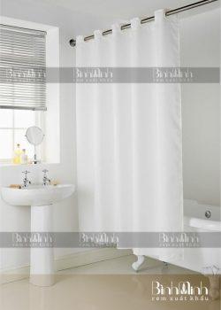 Rèm phòng tắm một màu đẹp, tinh tế