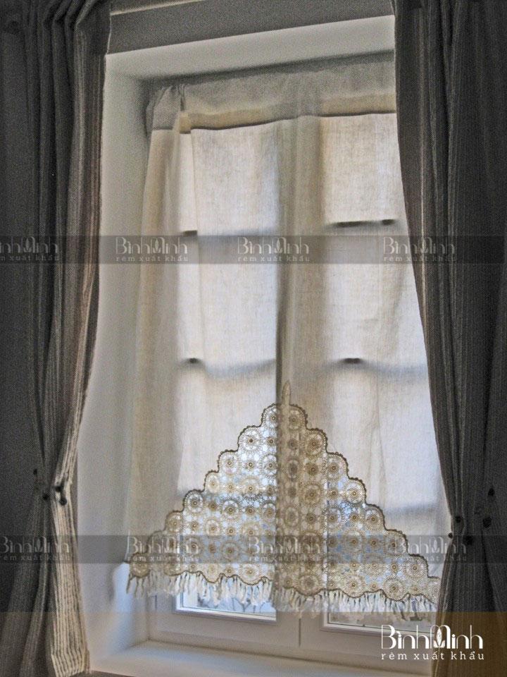 Rèm vintage cổ điển