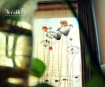 Địa chỉ mua rèm vải đẹp ở Hà Nội Uy Tín