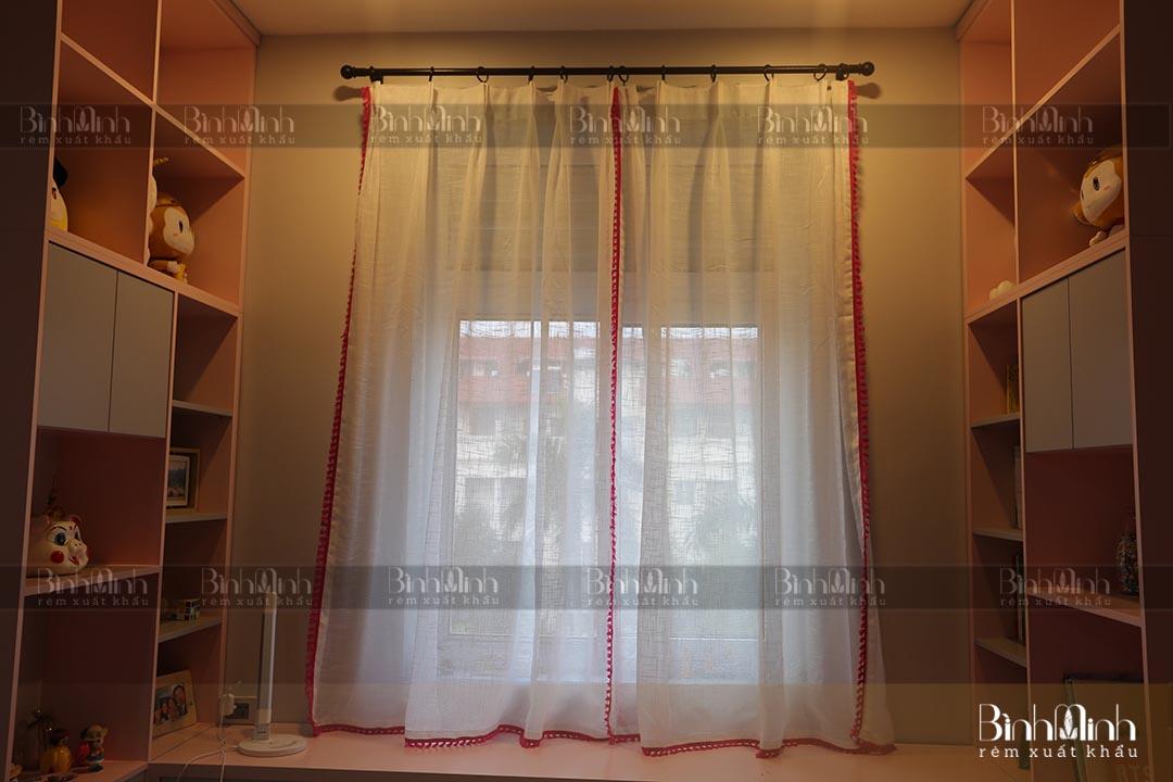 Rèm vintage cho phòng ngủ tinh tế, nhẹ nhàng