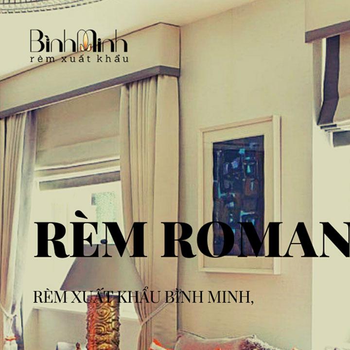 Hướng dẫn cách may rèm roman tại nhà đơn giản