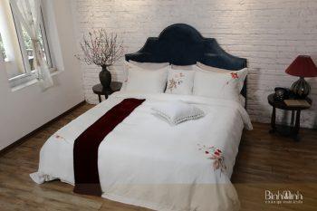 Ga giường màu trắng lựa chọn Số 1 cho phòng ngủ khách sạn