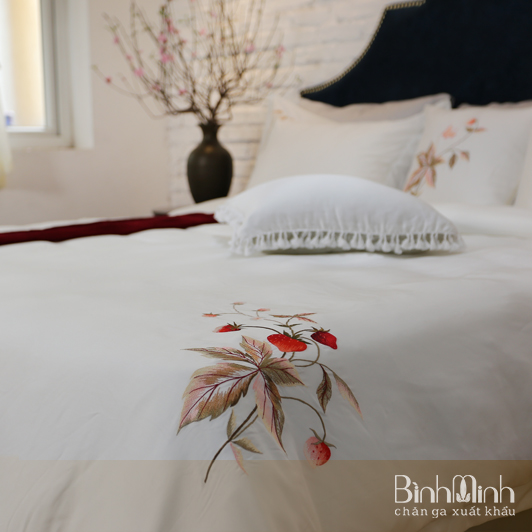 Một số mẫu drap giường màu trơn đẹp lung linh cho mùa hè