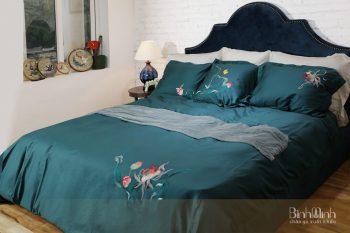Một số mẫu chăn ga giường 2mx2m2 từ chất liệu Tencel cao cấp
