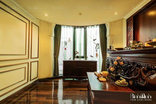 Rèm phòng thờ biệt thự đẹp