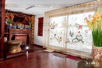 Tạo không gian riêng tư cho phòng ngủ gia đình