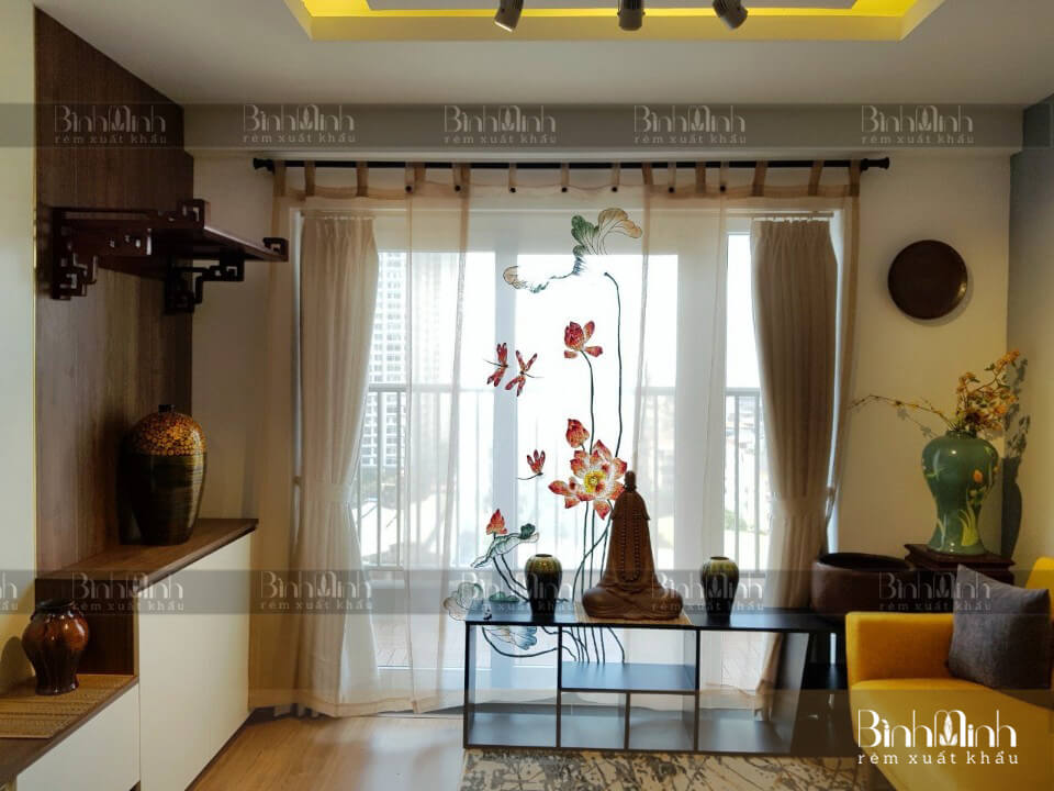 Rèm phòng thờ Phật