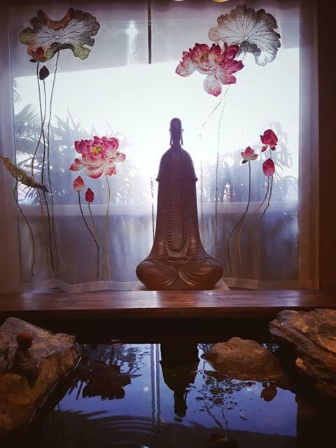 Rèm phòng thờ kiểu Nhật