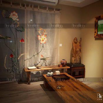 Rèm phòng thờ Bình Minh – Không gian tâm linh đẹp, ý nghĩa 2021