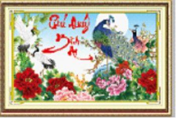 Ý nghĩa tranh thêu Phú Quý Bình An là gì?