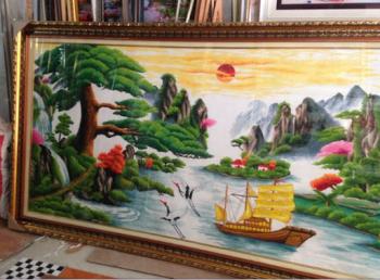 Ý nghĩa của bức Tranh Thuận Buồm Xuôi Gió