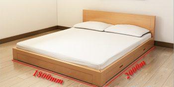 Kích thước chăn ga gối đệm cho giường đôi