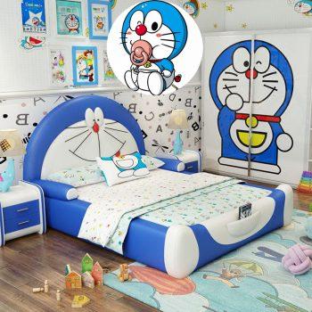 Một số bộ chăn ga gối hình Doremon dễ thương dành cho bé 2021