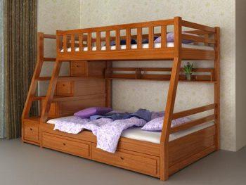 Cách lựa chọn chăn ga gối đệm giường tầng cho bé đúng cách
