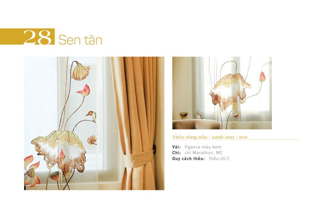Các loại rèm cửa cao cấp làm từ vải cản sáng