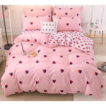 Top 5 mẫu ga giường màu hồng đẹp lung linh cho các nàng 2021