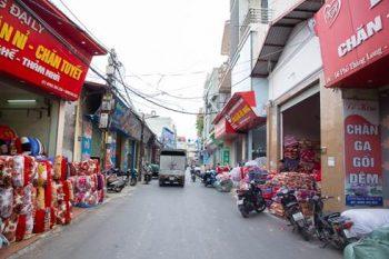 Đôi nét về làng nghề sản xuất chăn ga gối đệm Hà Nội