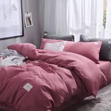 Mẫu chăn ga gối màu hồng xámMẫu chăn ga gối màu hồng xám