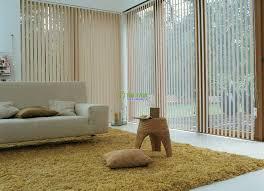 Rèm lá dọc dành cho phòng khách hiện đại, trang nhã