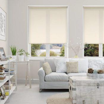 Rèm cuốn cửa sổ lựa chọn Số 1 cho không gian phòng khách hiện đại