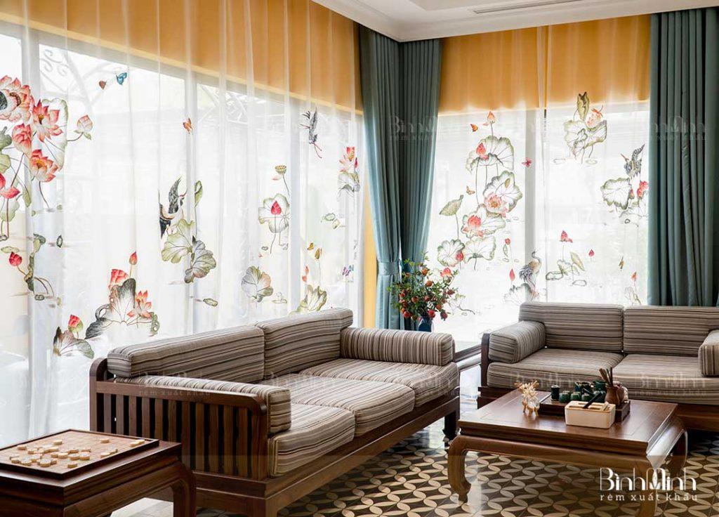 Tổng hợp những thiết kế rèm cửa sổ kéo thông dụng năm 2020