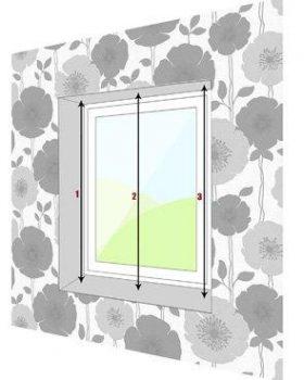 Cách đo rèm cho bắt lọt khuôn cửa như thế nào ?