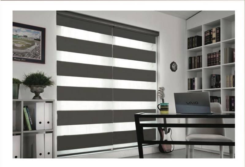 Không gian nào phù hợp với rèm cửa cầu vồng màu xám ?
