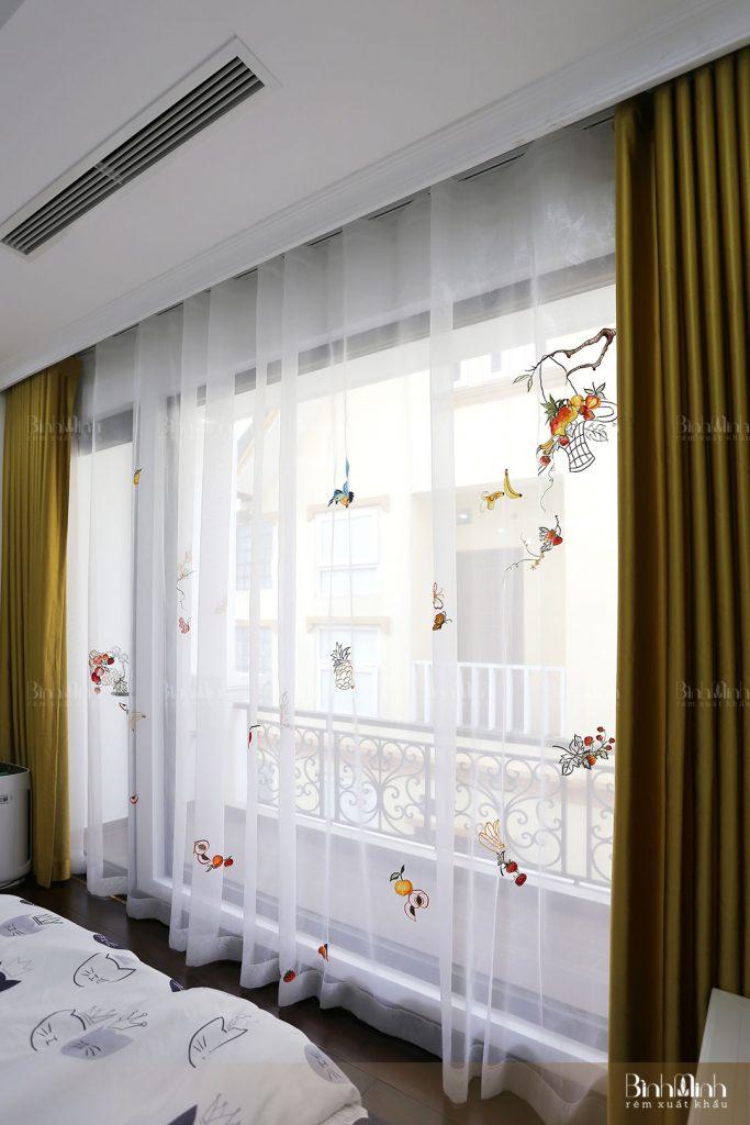 Mách chị em cách chọn rèm cửa sổ chung cư đẹp và hiện đại