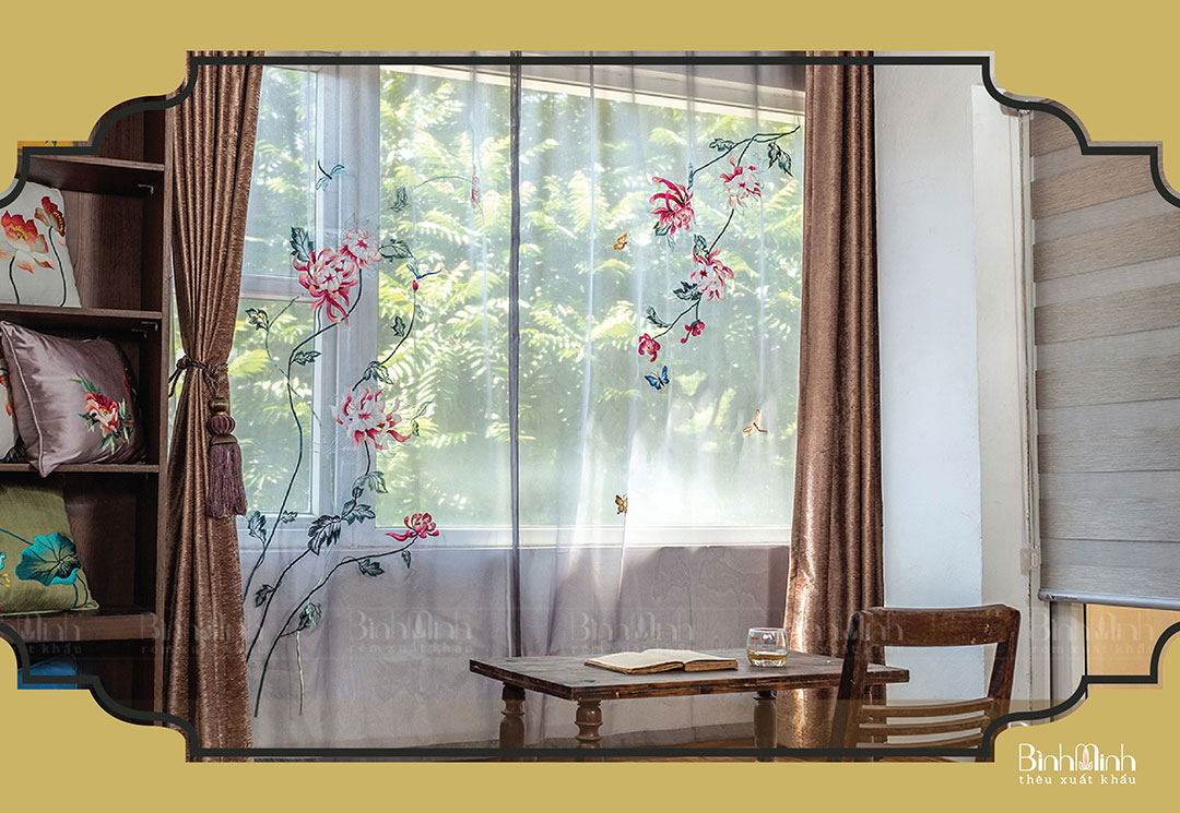 Rèm cửa sổ Tây Hồ - Rèm cửa văn phòng bán chạy tại Rèm Bình Minh