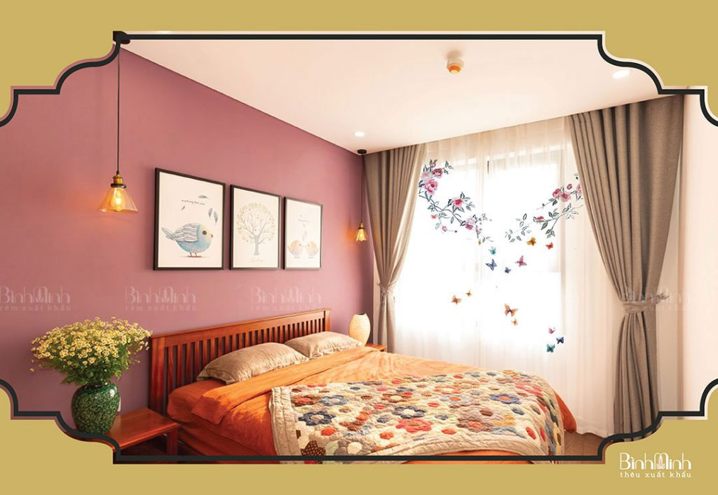 Tổng hợp 5+ mẫu rèm cửa sổ phòng ngủ đang bán chạy dịp cuối năm