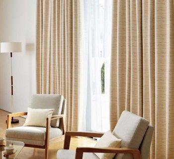 Các loại rèm cửa cao cấp làm từ vải bố