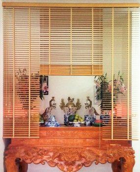 Những mẫu rèm bàn thờ chung cư đẹp, hợp phong thủy